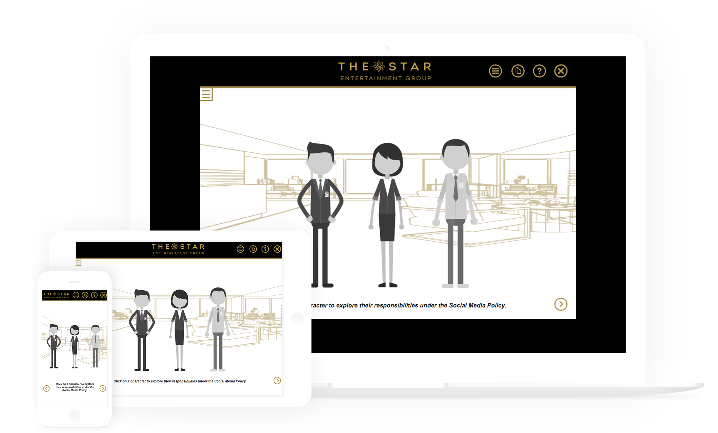 Responsive course design - The Star
