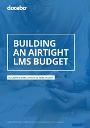 Building and airtight LMS budget