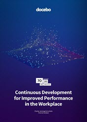 Continuous development for improved performance in the workplace