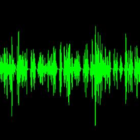 Audio visualiser
