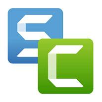 Snagit and Camtasia logos