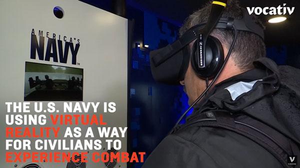 US Navy using VR for recruitment