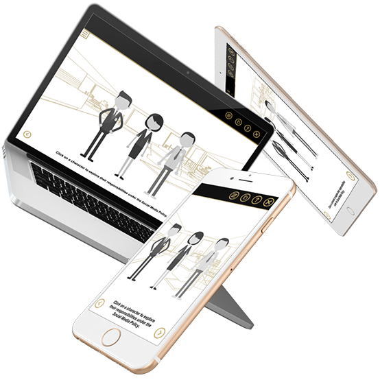 One eLearning module, many different devices