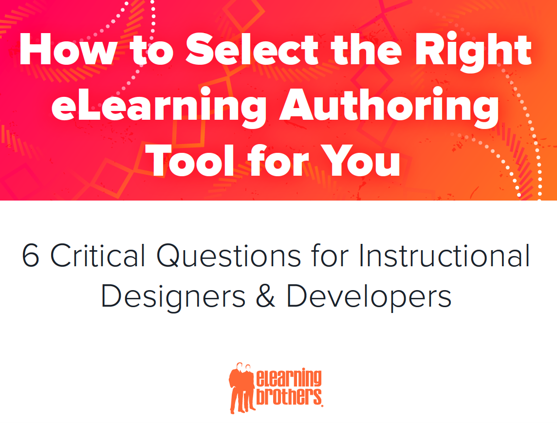 How to select the right eLearning Authoring Tool for you